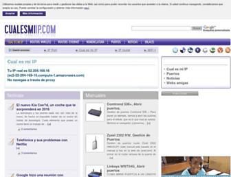 Thumbshot of Cualesmiip.com