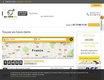 Thumbshot of Quotatispro.fr