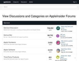 forums.appleinsider.com screenshot