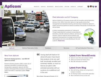 aplicom.com screenshot