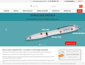 agrafa.ro screenshot