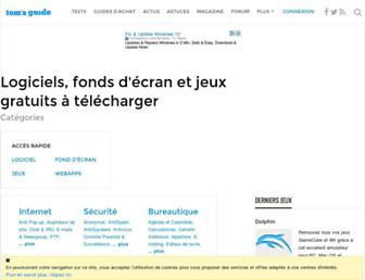 telecharger.tomsguide.fr screenshot