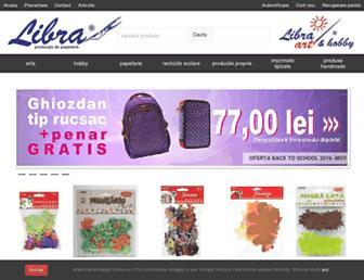 libraart.ro screenshot