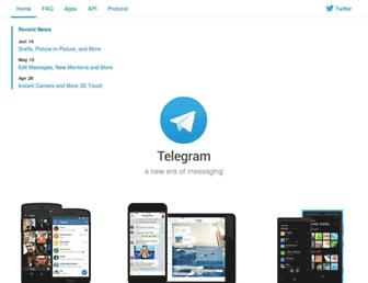 Thumbshot of Telegram.me