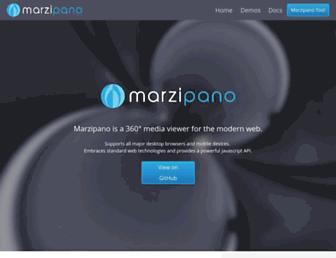 marzipano.net screenshot