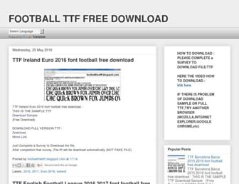 footballfreettf.blogspot.com screenshot
