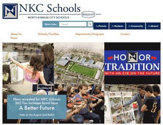 nkcschools.org screenshot