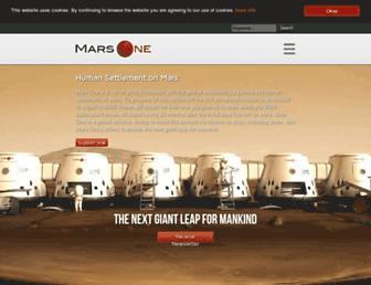 Thumbshot of Mars-one.com