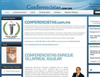 conferencistas.com.mx screenshot