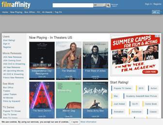 filmaffinity.com screenshot