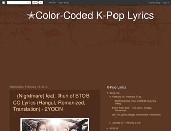 kpopccgasa.blogspot.com screenshot