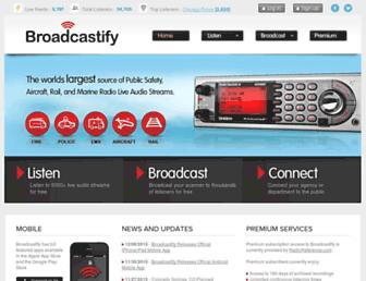 Thumbshot of Broadcastify.com
