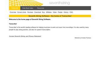 seventhstring.com screenshot