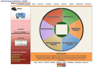 maptechindia.com screenshot