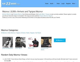 mezzmur.com screenshot