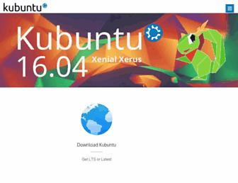 Thumbshot of Kubuntu.org