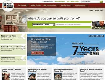 palmharbor.com screenshot