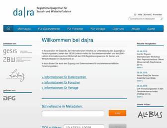 da-ra.de screenshot