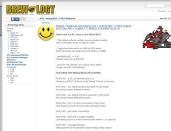 psp.brewology.com screenshot