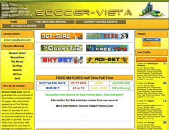 soccer-vista.com screenshot