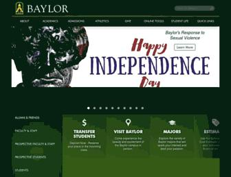 Thumbshot of Baylor.edu