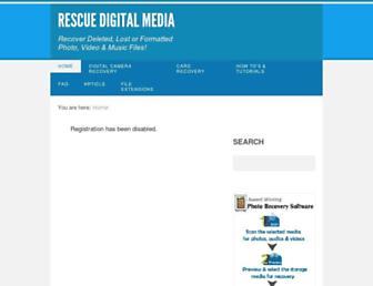 rescuedigitalmedia.com screenshot