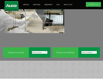 alsco.com.au screenshot