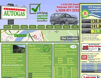 autogas4u.co.uk screenshot
