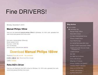 fine-drivers.blogspot.com screenshot