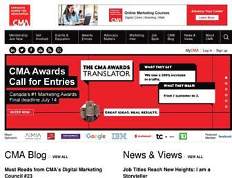 the-cma.org screenshot