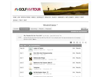 thegolfchannel.bluegolf.com screenshot