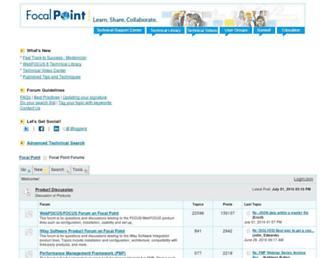 forums.informationbuilders.com screenshot