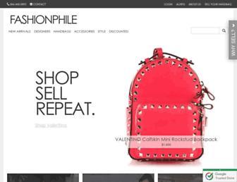 fashionphile.com screenshot