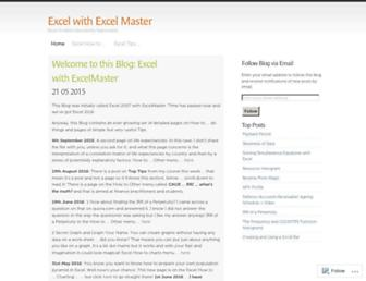 excelmaster.co screenshot