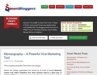 Thumbshot of Smartbloggerz.com