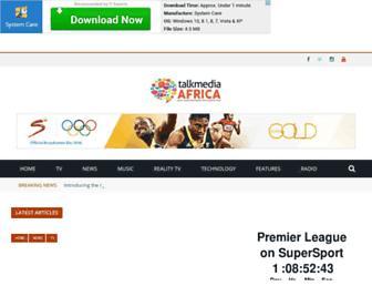 talkmediaafrica.com screenshot