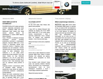 bmw-klub.pl screenshot