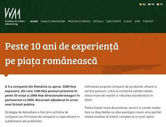 waymedia.ro screenshot