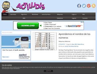 actiludis.com screenshot
