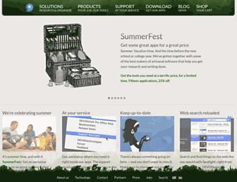 devontechnologies.com screenshot
