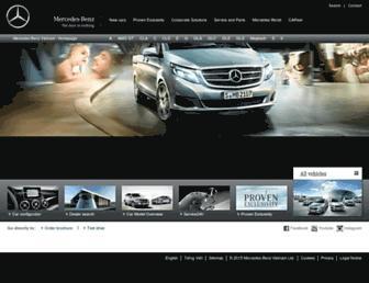 mercedes-benz.com.vn screenshot