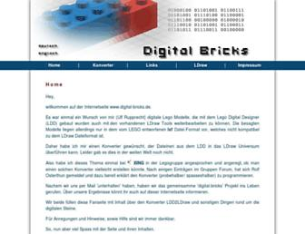 digital-bricks.de screenshot
