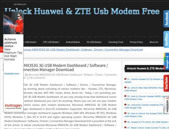 unlock-huawei-zte.blogspot.com screenshot