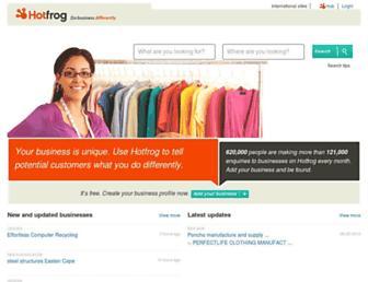 Thumbshot of Hotfrog.co.za