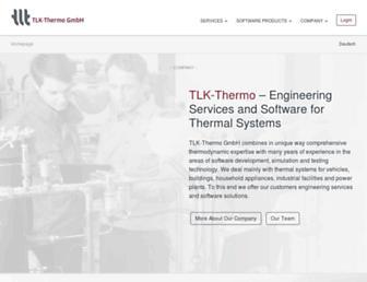 tlk-thermo.com screenshot