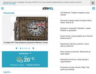 m.interia.pl screenshot
