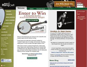 banjohangout.org screenshot