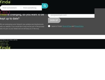 m.finda.co.nz screenshot