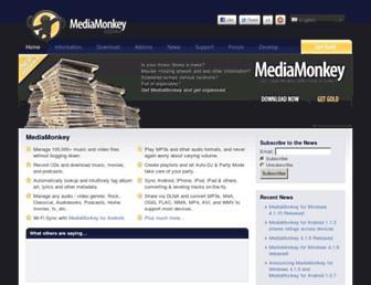 mediamonkey.com screenshot