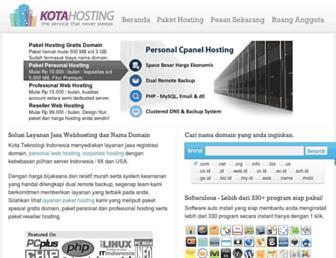 Thumbshot of Kotahosting.com